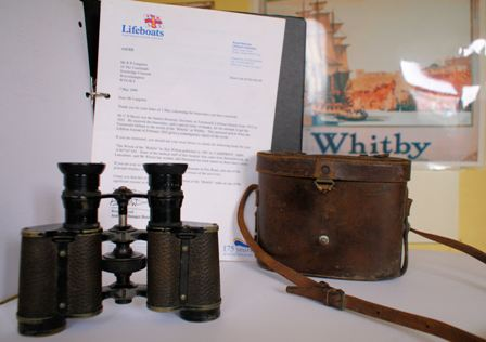 Binoculars and Case