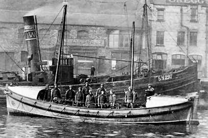 The Tynemouth motor lifeboat Henry Vernon