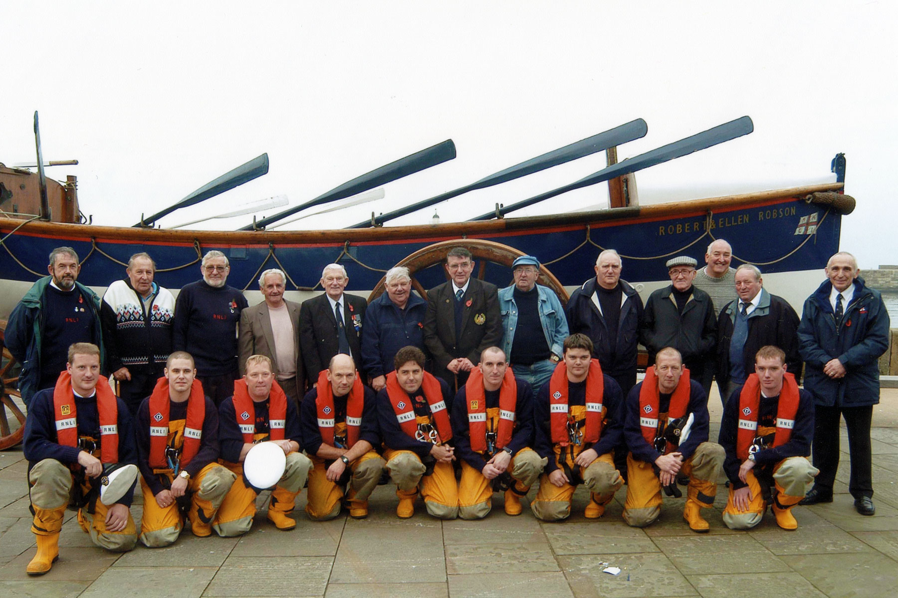 Lifeboat Crew Old and New