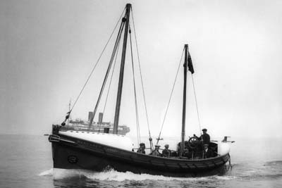 Margaret Harker Smith, the first motor lifeboat stationed at Whitby